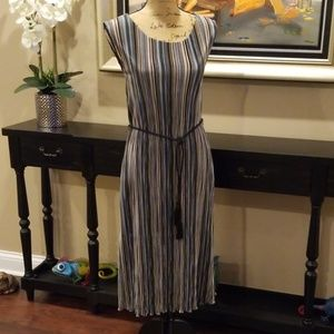 Connected Apparel drapery cord dress Rk:8:619